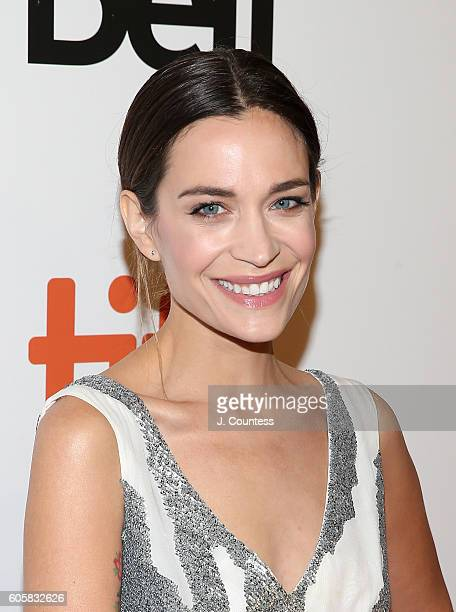 Actress Kathleen Munroe attends the 2016 Toronto International Film Festival Premiere of 'The Headhunter's Calling' at Roy Thomson Hall on September...