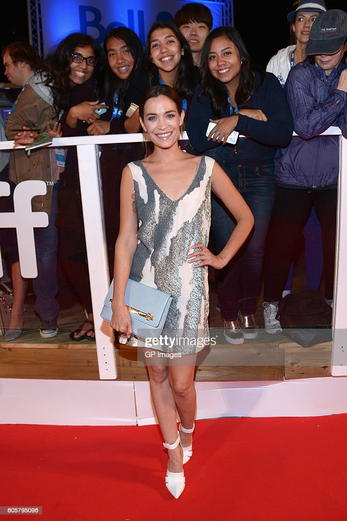 Actress Kathleen Munroe attends 'The Headhunter's Calling' premiere during 2016 Toronto International Film Festival at Roy Thomson Hall on September 14, 2016 in Toronto, Canada.