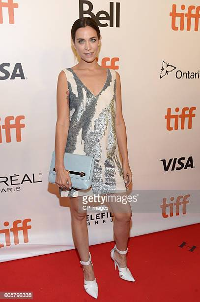 Actress Kathleen Munroe attends 'The Headhunter's Calling' premiere during 2016 Toronto International Film Festival at Roy Thomson Hall on September...