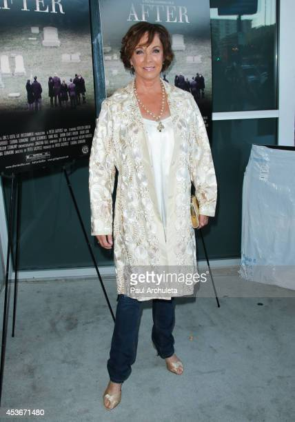 Actress Kathleen Quinlan attends the premiere 'After' at Laemmle NoHo 7 on August 15 2014 in North Hollywood California