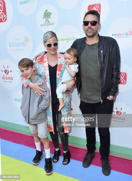 Actress Kathleen Robertson and producer Chris Cowles at Step 2 Presents 6th Annual Celebrity Red CARpet Safety Awareness Event on September 23 2017...