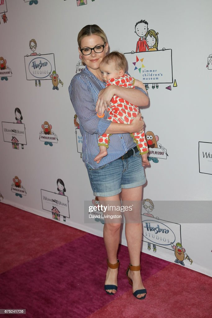 Actress Kathleen Robertson and William Robert Cowles attend the WE ALL PLAY FUNdraiser hosted by the Zimmer Children's Museum at the Zimmer Children's Museum on April 30, 2017 in Los Angeles, California.