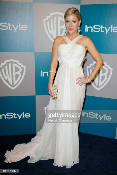 Actress Kathleen Robertson arrives at 13th Annual Warner Bros And InStyle Golden Globe Awards After Party at The Beverly Hilton hotel on January 15...