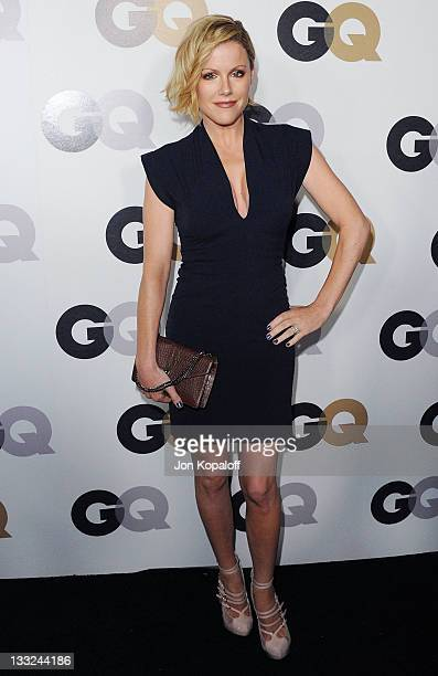 Actress Kathleen Robertson arrives at the 16th Annual GQ 'Men Of The Year' Celebration at Chateau Marmont on November 17 2011 in Los Angeles...