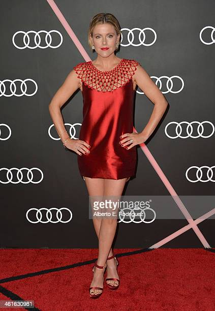 Actress Kathleen Robertson arrives to Audi Celebrates Golden Globes Weekend at Cecconi's Restaurant on January 9 2014 in Los Angeles California