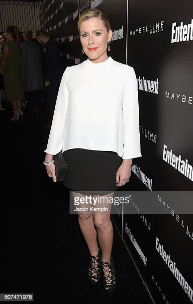 Actress Kathleen Robertson attends Entertainment Weekly Celebration Honoring The Screen Actors Guild Awards Nominees presented by Maybelline at...
