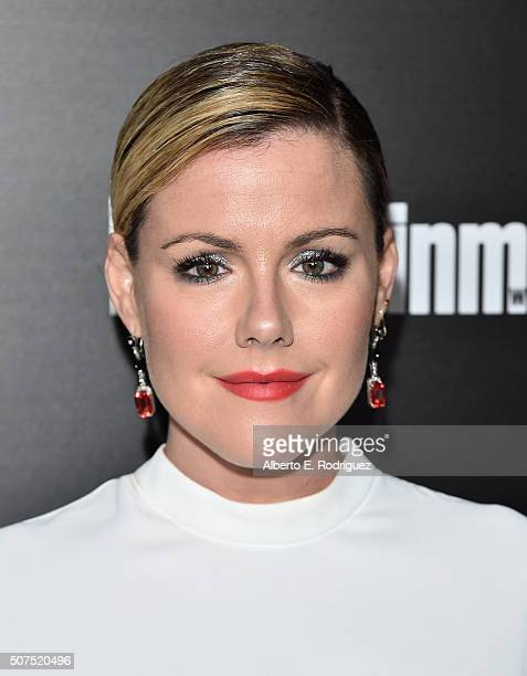 Actress Kathleen Robertson attends Entertainment Weekly's celebration honoring THe Screen Actors Guild presented by Maybeline at Chateau Marmont on...