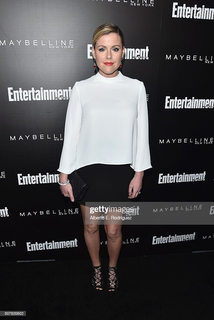 Actress Kathleen Robertson attends Entertainment Weekly's celebration honoring THe Screen Actors Guild presented by Maybeline at Chateau Marmont on January 29, 2016 in Los Angeles, California.