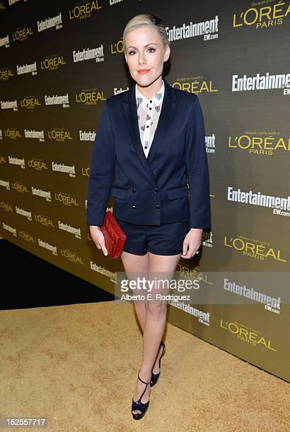 Actress Kathleen Robertson attends The 2012 Entertainment Weekly PreEmmy Party Presented By L'Oreal Paris at Fig Olive Melrose Place on September 21...