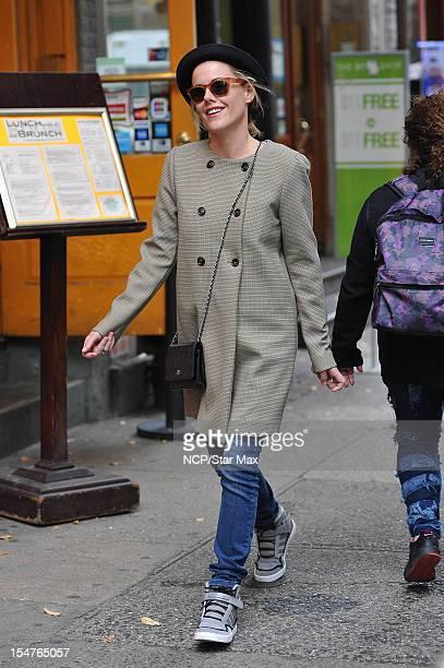 Actress Kathleen Robertson is seen on October 25 2012 in New York City New York
