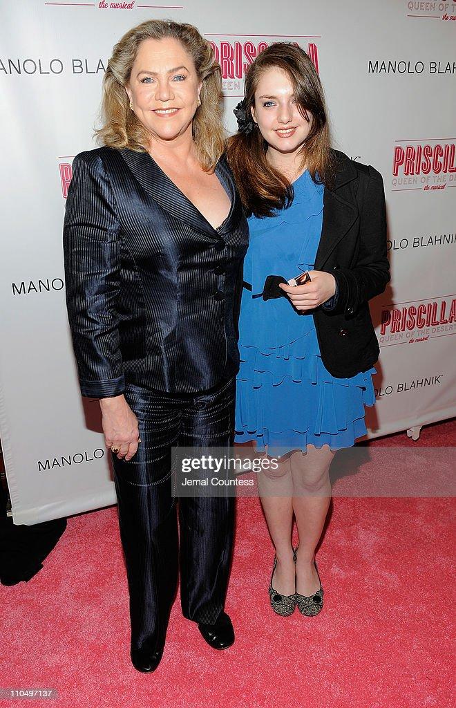 Rachel Ann Weiss.Actress Kathleen Turner And Rachel Ann Weiss Attend The