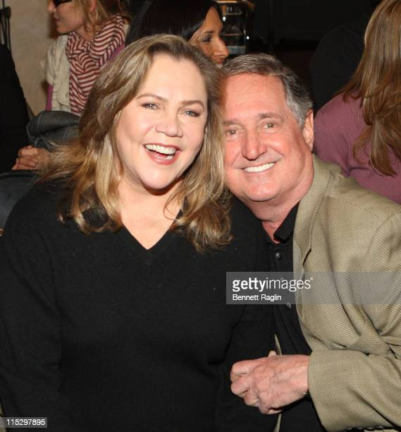 Actress Kathleen Turner and singer/Songwriter Neil Sedaka attends the 2008 New York Juror Appreciation Day at the New York County Courthouse on...
