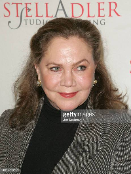 Actress Kathleen Turner arrives at the 4th Annual Stella by Starlight Gala Benefit Honoring Martin Sheen at Chipriani 23rd st on March 17, 2008 in...