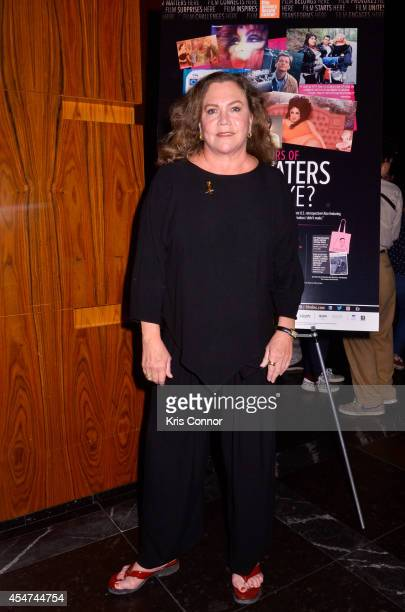 Actress Kathleen Turner attends an after party to celebrate Film Society of Lincoln Center's retrospective celebrating John Waters at Stone Rose...