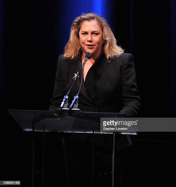 Actress Kathleen Turner attends the 63rd annual Writers Guild Awards at the AXA Equitable Center on February 5 2011 in New York United States