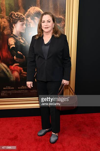 """Actress Kathleen Turner attends the New York special screening """"Far From The Madding Crowd"""" at The Paris Theatre on April 27, 2015 in New York City."""
