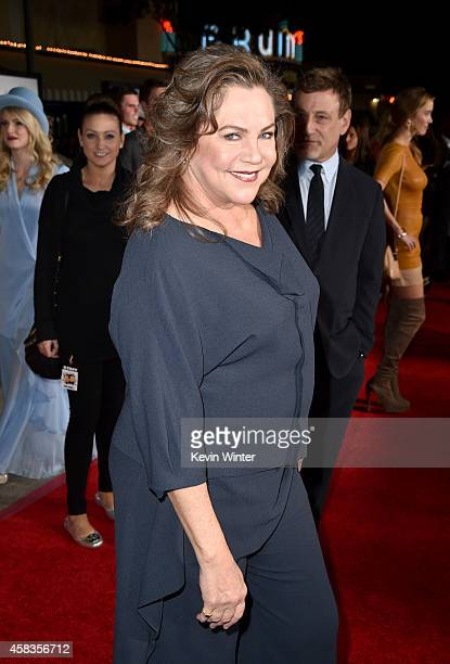 Actress Kathleen Turner attends the premiere of Universal Pictures and Red Granite Pictures' Dumb And Dumber To on November 3 2014 in Westwood...