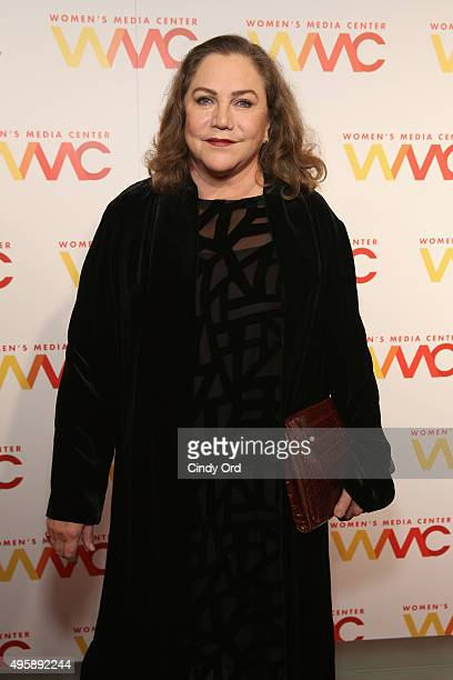 Actress Kathleen Turner attends The Women's Media Center 2015 Women's Media Awards on November 5 2015 in New York City