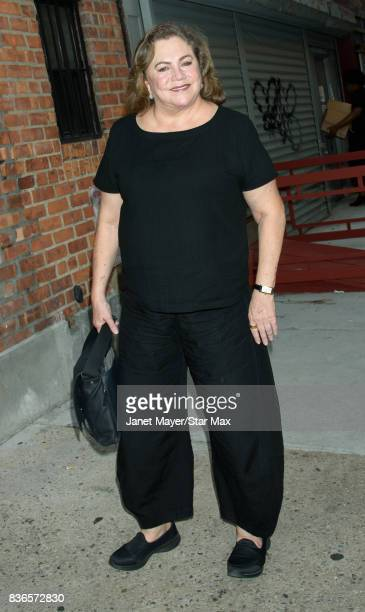 Actress Kathleen Turner is seen on August 21 2017 in New York City