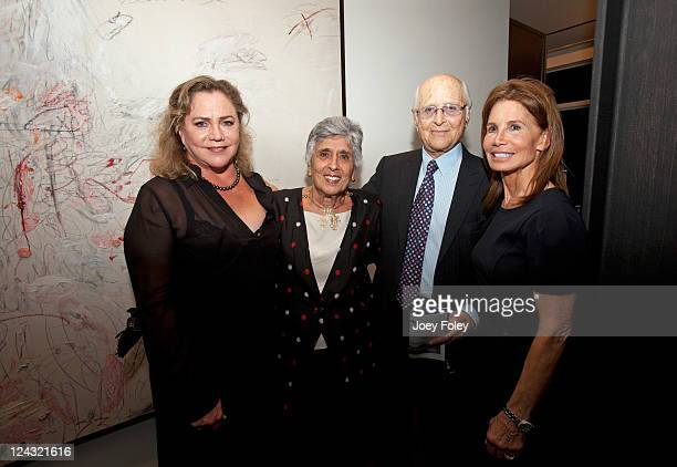 Actress Kathleen Turner Joan Harris Television writer/producer Norman Lear and Barbara BluhmKaul attend the 30th Anniversary of People For The...