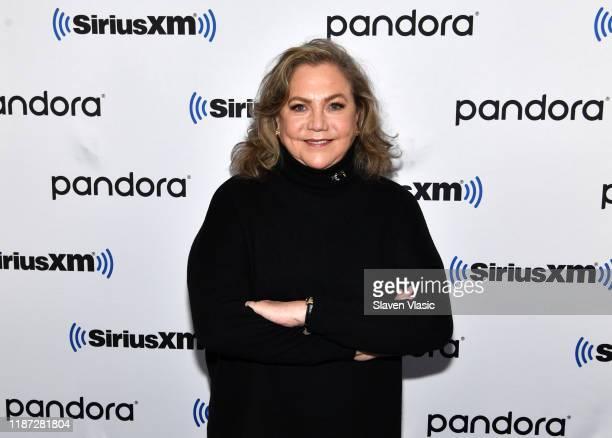 Actress Kathleen Turner visits SiriusXM Studios on November 12, 2019 in New York City.