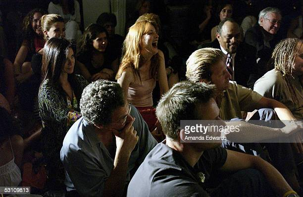 Actress Kathleen York attends An Evening With Gore Vidal at the home of Paul Alan Smith on June 20 2005 in Los Angeles California The event served to...