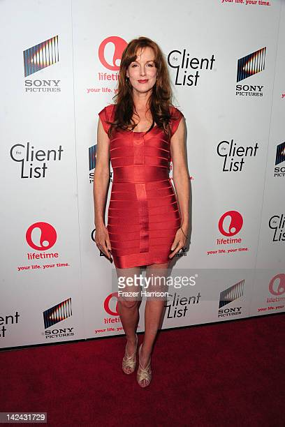 Actress Kathleen York attends the launch party for Lifetime's new series The Client List at Sunset Tower on April 4 2012 in West Hollywood California