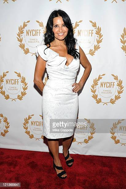 Actress Kathrine Narducci attends the 2011 New York International Film Festival opening night gala premiere of The Last Gamble at The Hudson Theatre...