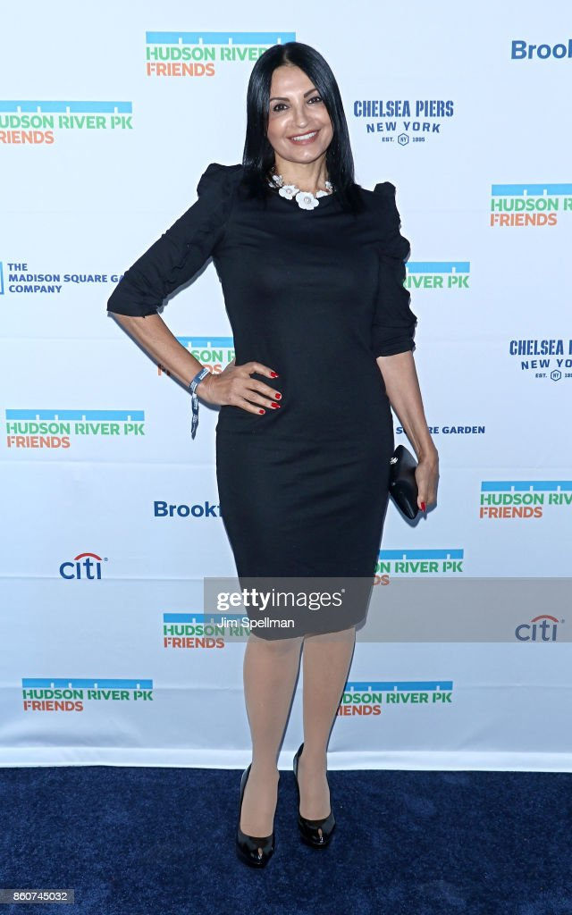 Actress Kathrine Narducci attends the 2017 Hudson River Park gala at Hudson River Park's Pier 62 on October 12, 2017 in New York City.