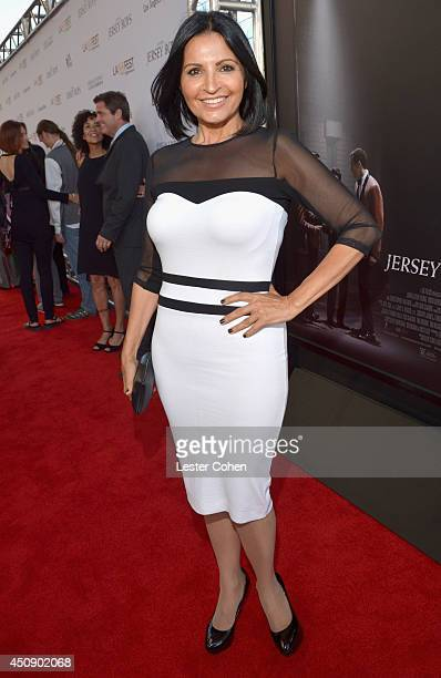 Actress Kathrine Narducci attends the premiere of Warner Bros Pictures' Jersey Boys during the 2014 Los Angeles Film Festival at Regal Cinemas LA...