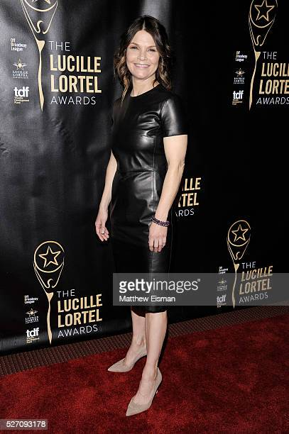 Actress Kathryn Erbe arrives at the 31st Annual Lucille Lortel Awards at NYU Skirball Center on May 1 2016 in New York City
