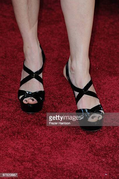 Actress Kathryn Erbe arrives at the 82nd Annual Academy Awards held at Kodak Theatre on March 7 2010 in Hollywood California