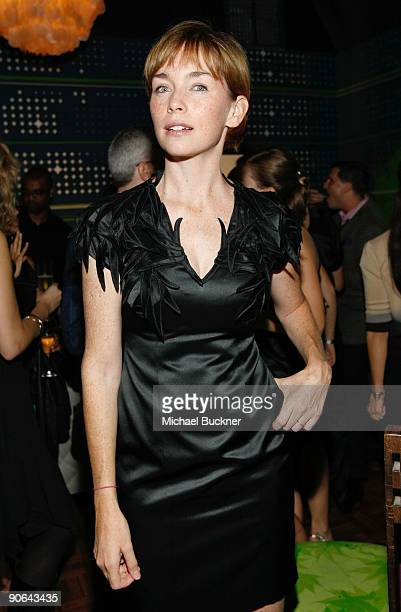 Actress Kathryn Erbe attends Fashion Week Spring 2010 presented by MercedesBenz at Bryant Park on September 12 2009 in New York City