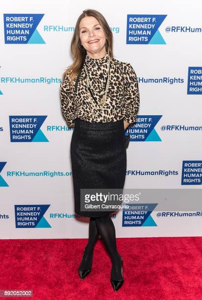 Actress Kathryn Erbe attends Robert F Kennedy Human Rights Hosts Annual Ripple Of Hope Awards Dinner at New York Hilton on December 13 2017 in New...