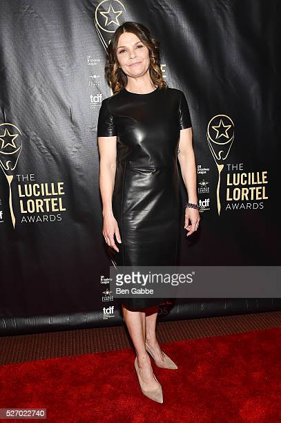 Actress Kathryn Erbe attends the 2016 Lucille Lortel Awards on May 01 2016 in New York New York