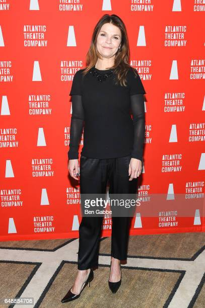 Actress Kathryn Erbe attends the Atlantic Theater Company Directors' Choice gala at The Pierre Hotel on March 6 2017 in New York City