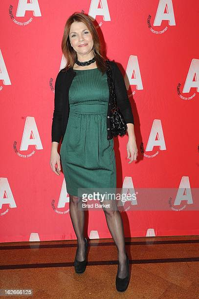 Actress Kathryn Erbe attends the Atlantic Theater Company Spring Gala at 583 Park Avenue on February 25 2013 in New York City