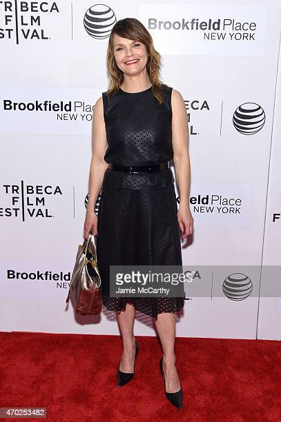 Actress Kathryn Erbe attends the premiere of 'Tumbledown' during the 2015 Tribeca Film Festival at BMCC Tribeca PAC on April 18 2015 in New York City
