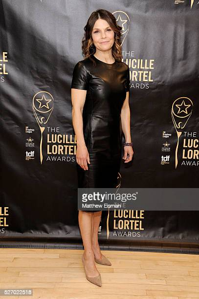 Actress Kathryn Erbe attends the press room for the 31st Annual Lucille Lortel Awards at NYU Skirball Center on May 1 2016 in New York City