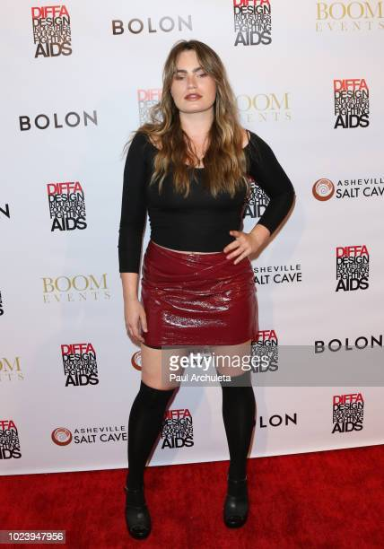 Actress Kathryn Gallagher attends the DIVERSITY x DESIGN charity event at Helms Design Center on August 25 2018 in Culver City California