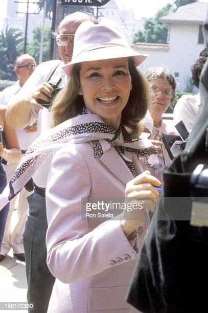 Actress Kathryn Grant attends the Wedding of Debby Boone and Gabriel Ferrer on September 1 1979 at the Hollywood Presbyterian Church in Hollywood...