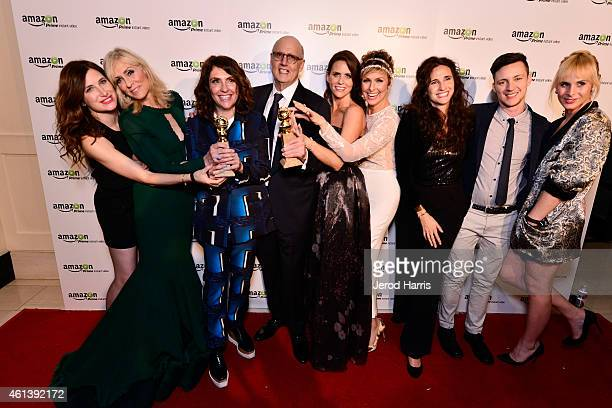 Actress Kathryn Hahn actress Judith Light show creator/director Jill Soloway actor Jeffrey Tambor actress Amy Landecker actress Melora Hardin guest...