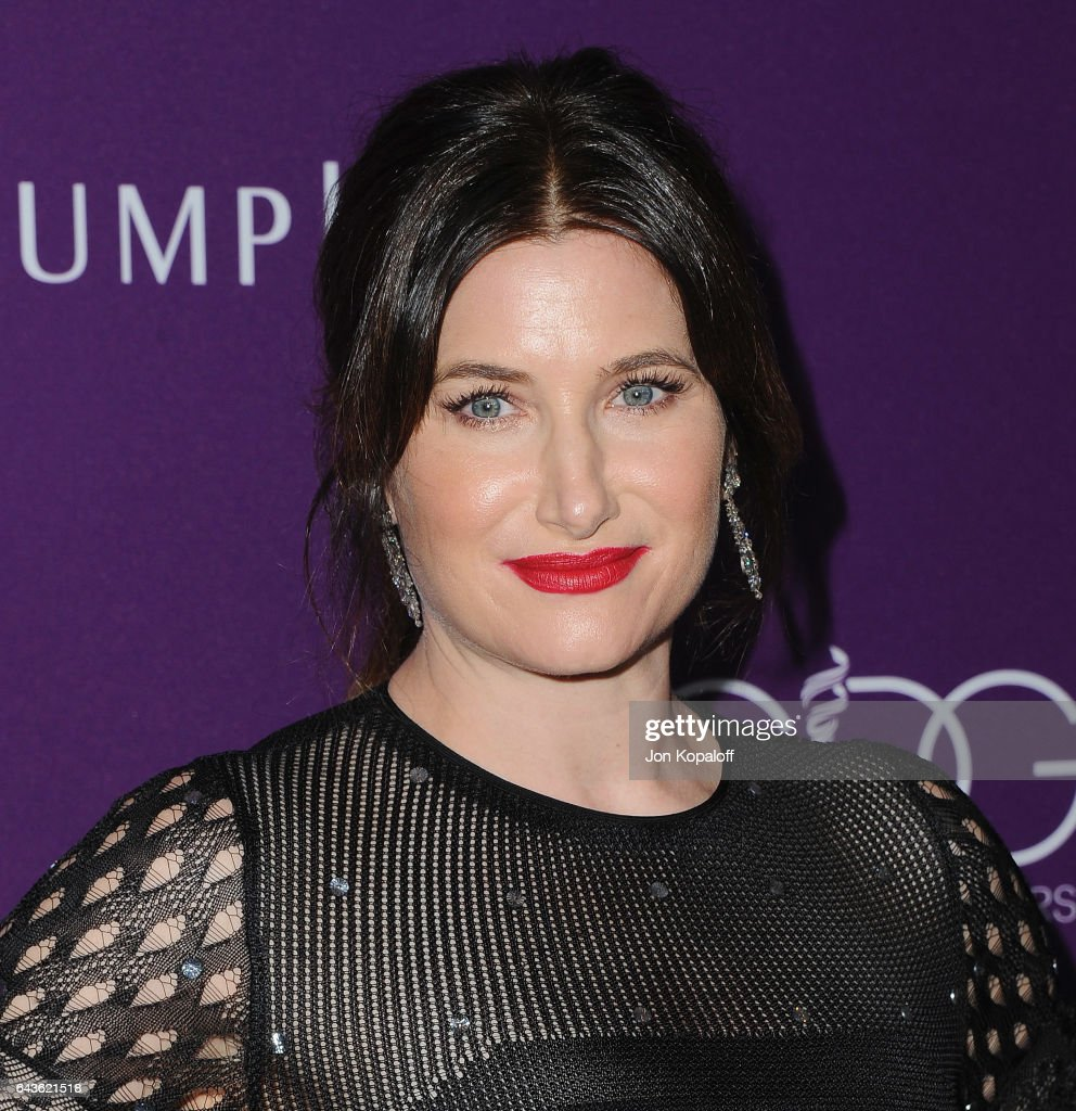 Actress Kathryn Hahn arrives at the 19th CDGA (Costume Designers Guild Awards) at The Beverly Hilton Hotel on February 21, 2017 in Beverly Hills, California.