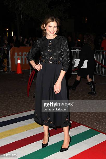 Actress Kathryn Hahn arrives at the Bad Words premiere during the 2013 Toronto International Film Festival at Ryerson Theatre on September 6 2013 in...