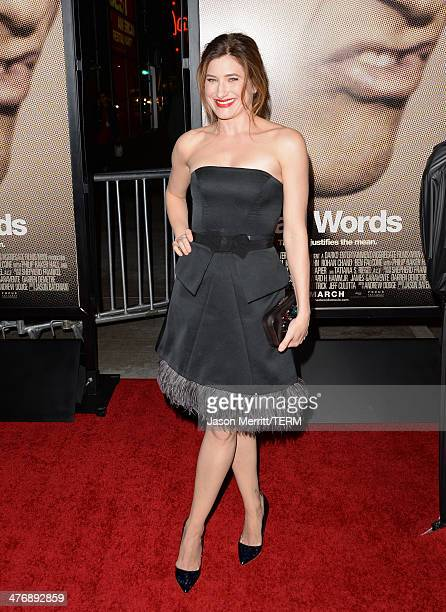 Actress Kathryn Hahn arrives at the premiere of Focus Features' 'Bad Words' at ArcLight Cinemas Cinerama Dome on March 5 2014 in Hollywood California
