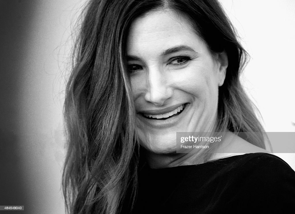 Actress Kathryn Hahn arrives at the Premiere Of Lionsgate Premiere's 'She's Funny That Way' at Harmony Gold on August 19, 2015 in Los Angeles, California.