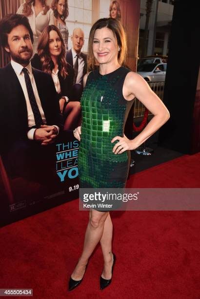 """Actress Kathryn Hahn arrives at the premiere of Warner Bros. Pictures' """"This Is Where I Leave You"""" at TCL Chinese Theatre on September 15, 2014 in..."""
