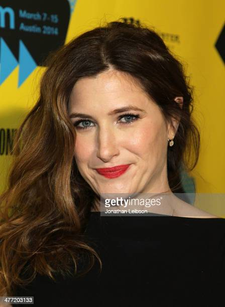 Actress Kathryn Hahn arrives at the SXSW Red Carpet Screening Of Focus Features' 'Bad Words' on March 7 2014 in Austin Texas