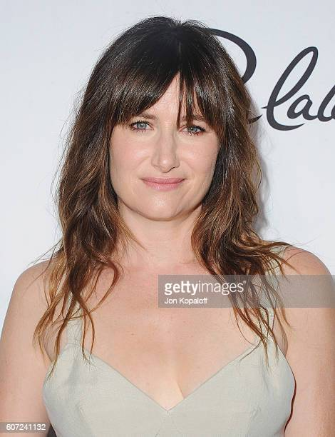 Actress Kathryn Hahn arrives at Variety And Women In Film's PreEmmy Celebration at Gracias Madre on September 16 2016 in West Hollywood California