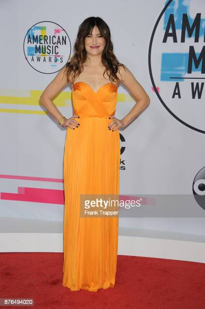 Actress Kathryn Hahn attend 2017 American Music Awards at Microsoft Theater on November 19 2017 in Los Angeles California